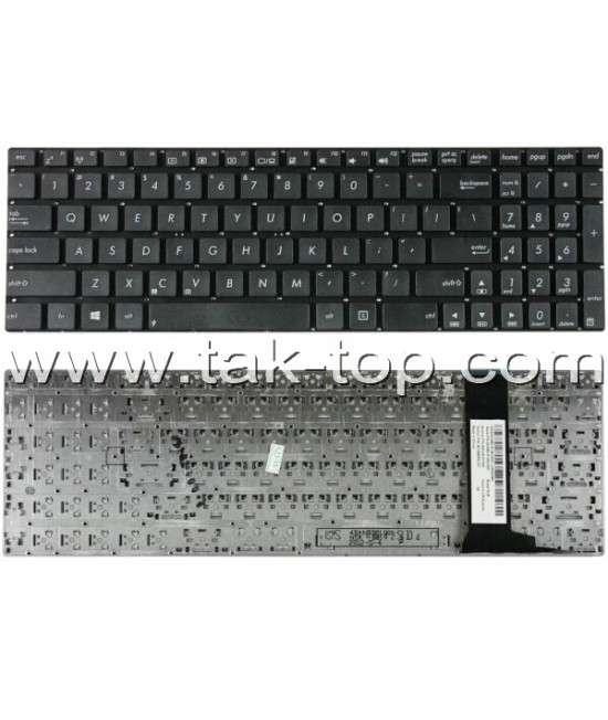 Keyboard Laptop Asus N56 With Frame BackLight  کیبورد لپ تاپ ایسوس