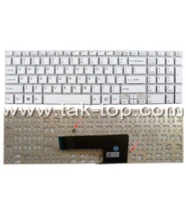 Keyboard Laptop Sony Vaio SVF 152-153 With Frame Black کیبورد لپ تاپ سونی