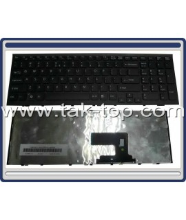 Keyboard Laptop Sony Vaio VPC-EH With Frame کیبورد لپ تاپ سونی