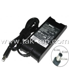 Adapter Laptop Dell 19.5V 3.34A 90W 7.4*5.0 Fat  آداپتور لپ تاپ دل